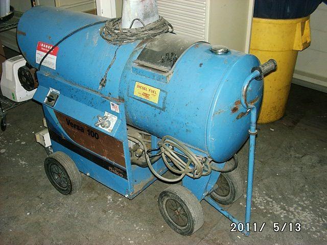 Clarke Delco Versa 100 Diesel Pressure Washer  U0026 Steam
