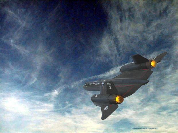 Dünyanın En Hızlı Jet Uçagı - [ Lockheed SR-71 Blackbird ]