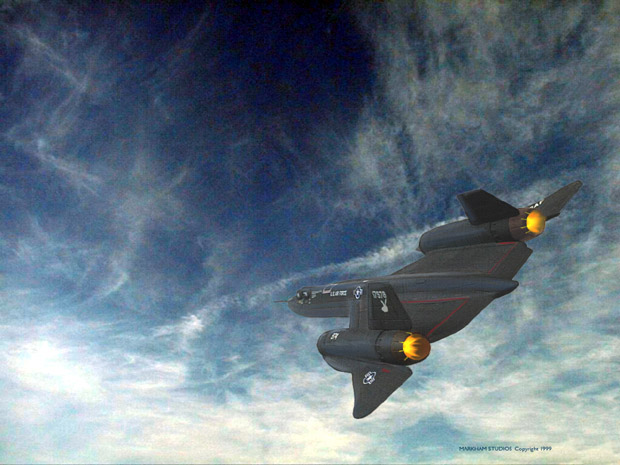 D�nyan�n En H�zl� Jet U�ag� - [ Lockheed SR-71 Blackbird ]